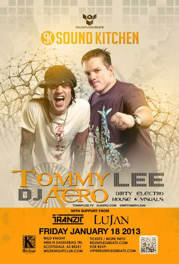 tommy lee and dj aero flyer fri jan 18 2013